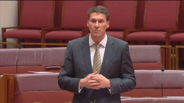 Bernardi stands with those who respect him