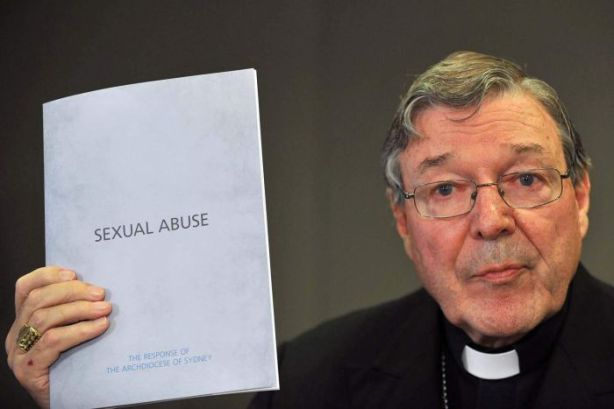 "George Pell states the churches ""position"". Transparency was never going to be an option...."