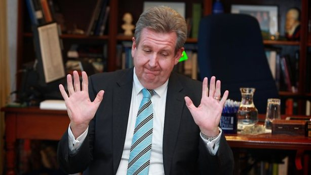 Barry O'Farrell, keen to discuss his fire levy