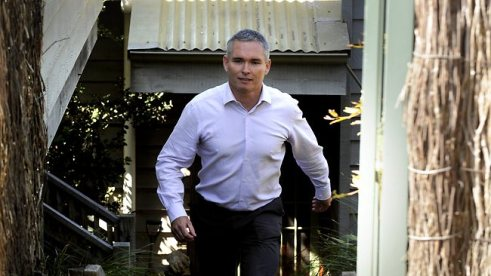 Proof??? Thomson walking out a door...