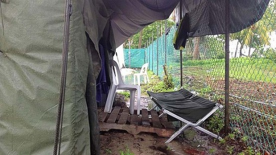 The balcony suite on Manus Island