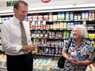 Not only will I slash your pension, but you'll soon be paying an extra $2 for each of those items....