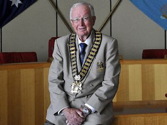 Blacktown Mayor len Robinson. There are no words to describe a man who would stoop so low...