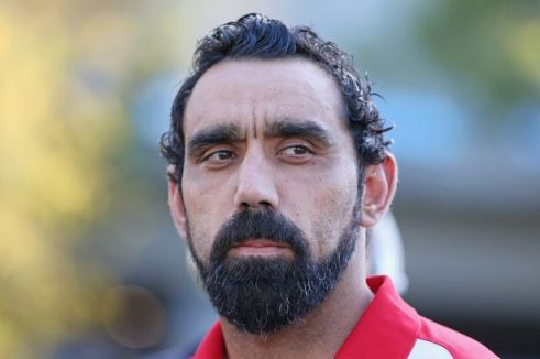 Adam Goodes. A class act on and off the field, and Wixxy's Aussie Of The Year