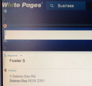 White Pages online