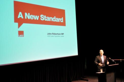 John Robertson - Setting the standard