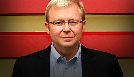 Kevin Rudd - Made the long overdue apology to the stolen generation that John Howard had refused to make
