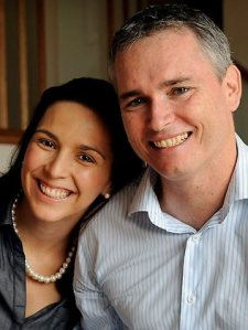 Craig Thomson and wife Zoe - hoping for a fair hearing and reasonable reporting.