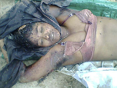 A woman raped and murdered by Sri Lankan military soldiers