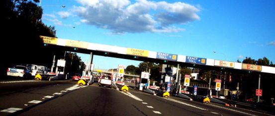 The M4 tollgates - making a comeback under a Coalition government