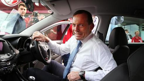 A Prime Minister in a Holden - we won't see that again after Abbott
